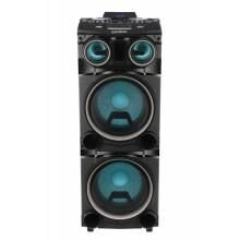 Caixa Amplificada Gradiente Power Bass LED Bluetooth Karaokê GCA103