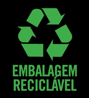 Embalagem reciclável