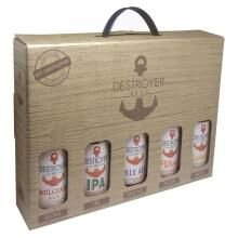 Kit Cerveja Destroyer Beer com 5 Unidades 355ml