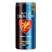 Bebida Energética Wild Dragon Tropic 250ml