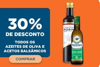 TODOS OS AZEITES DE OLIVA E ACETOS BALSÂMICOS