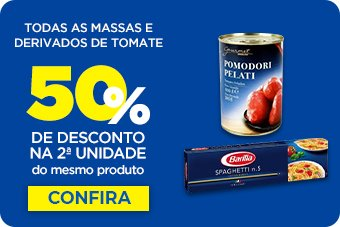 Todas as Massas e Derivados de Tomate