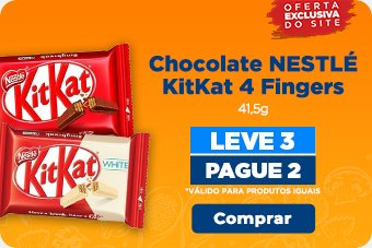 Chocolate NESTLÉ KitKat 4 Fingers