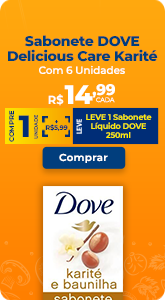 Sabonete DOVE Delicious Care Karité